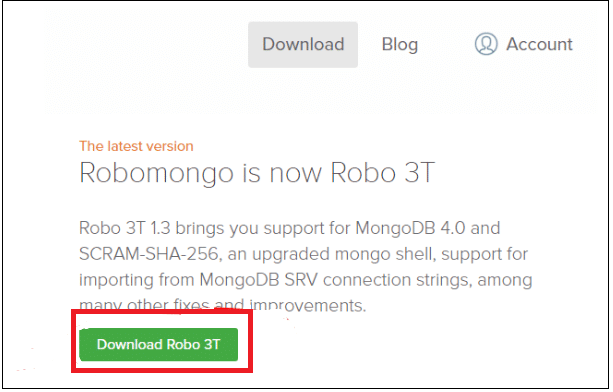 RoboMongo Download - Intellipaat