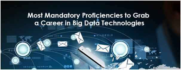 Big Data Technologies – Most Mandatory Proficiencies to Grab a Career