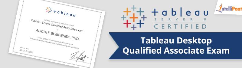 Tableau Desktop Certified