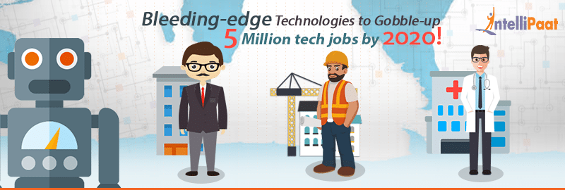 Bleeding-edge Technologies to Gobble-up 5 Million tech jobs by 2020