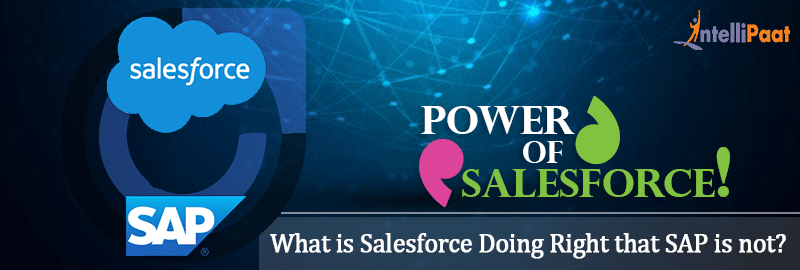 salesforce doing right that sap is not