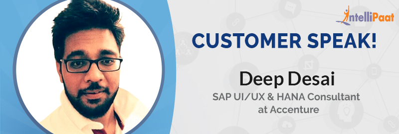 From a SAP Consultant to a Big Data Expert: Deep's Journey