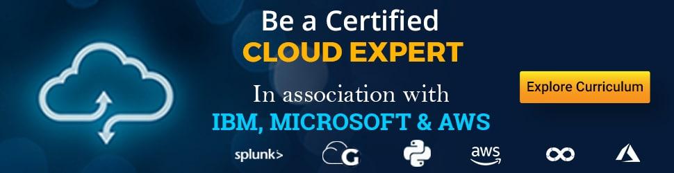 Become a certified cloud expert