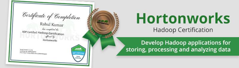 Hortonworks Hadoop Certification