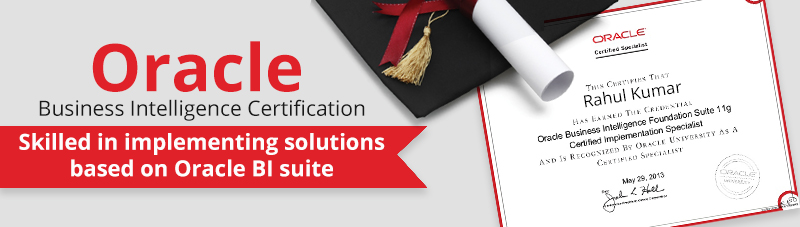 Oracle Business Intelligence Certification
