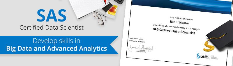 SAS Certified Data Scientist