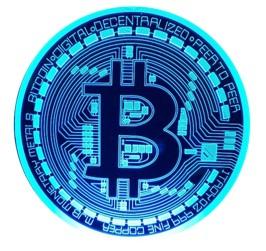 blockchain bitcoin graphic