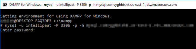xampp in windows