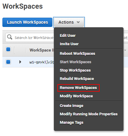 workspaces demo