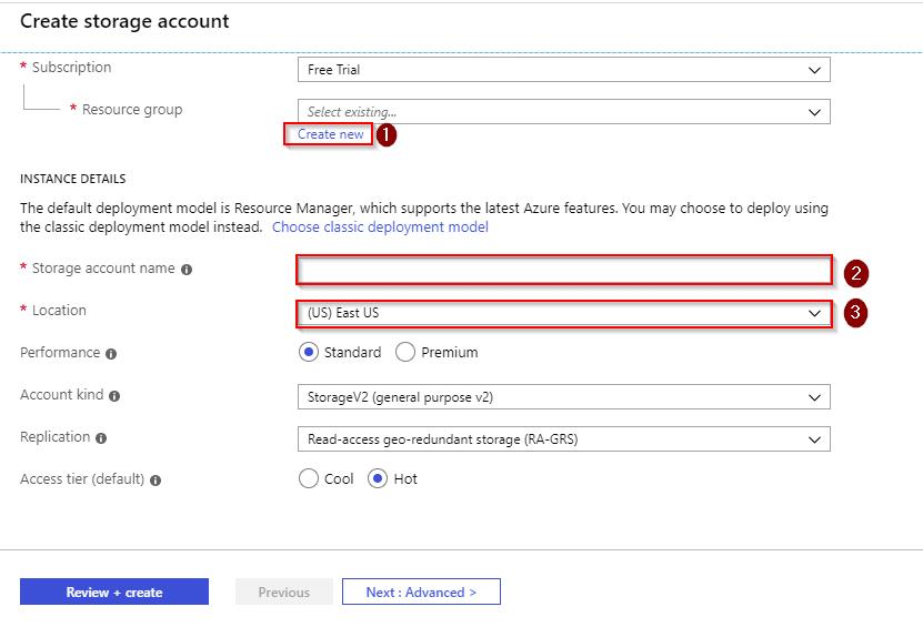 Azure Storage create account-Azure Storage-Intellipaat