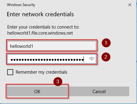 Map network credentials-Azure Storage-Intellipaat