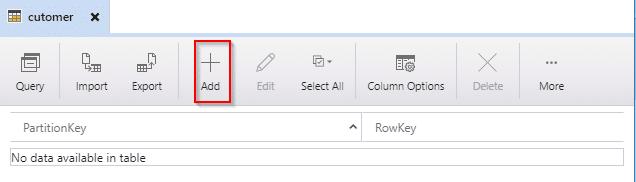 Azure storage explorer add column-Azure Storage-Intellipaat