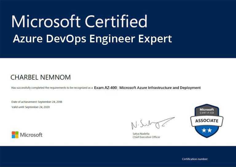Azure DevOps Certification