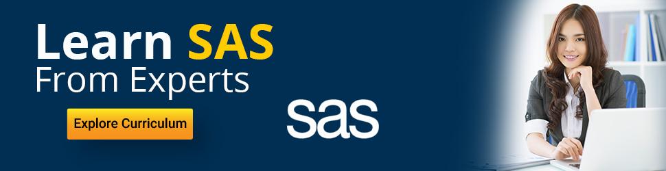 SAS tutorial – Learn SAS from experts – Intellipaat