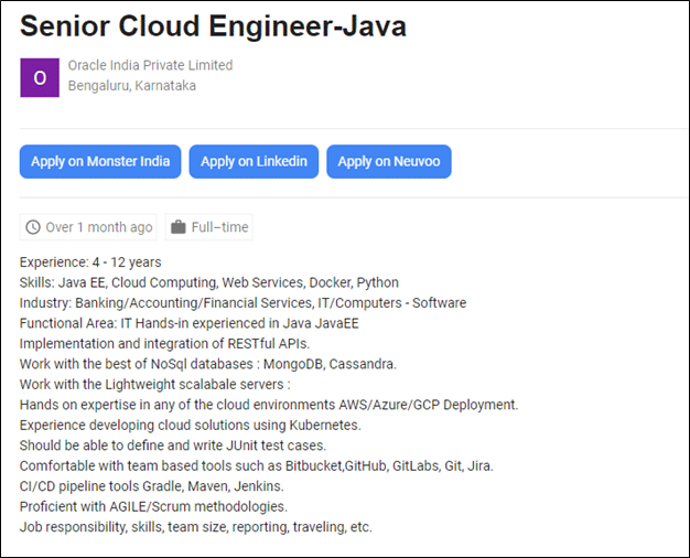 Senior Cloud Engineer