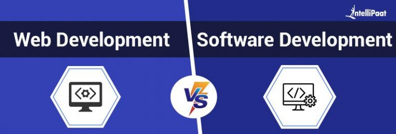 Web Development vs Software Development