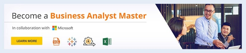 Become a Business Analyst Master