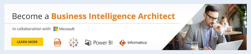Become a Business Intelligence Architect
