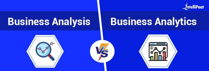 Difference Between Business Analysis and Business Analytics