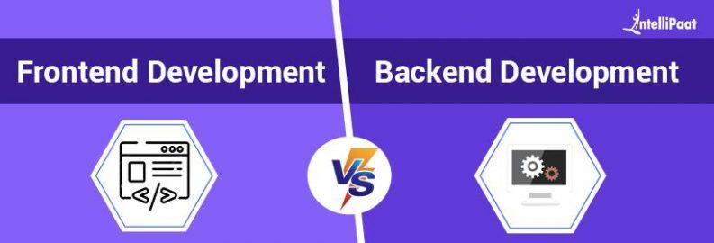 Front End vs Back End Development