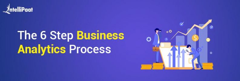 the 6-step business analytics process