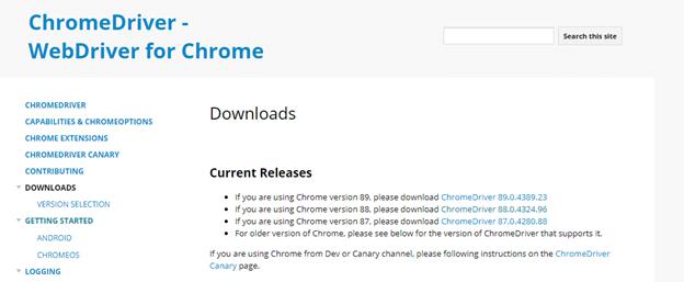 Chrome Driver