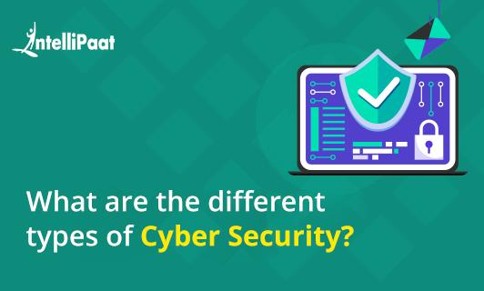 What are the different types of Cyber Security