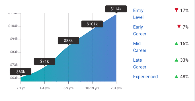 Average Salaries of Cyber Security Analysts Based on Experience