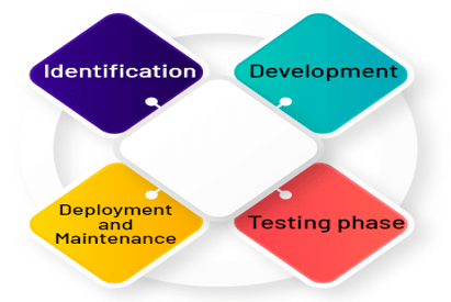 Various phases of the RPA life cycle