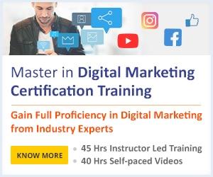 Digital Marketing Master