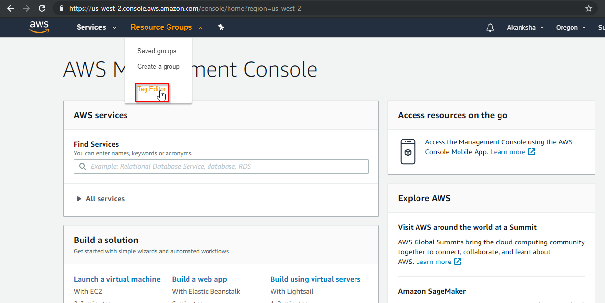 How to see all running Amazon EC2 instances across all
