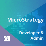 MicroStrategy Developer and Administrator Training (Free Data Warehousing and ERwin Course)