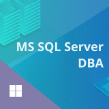 MS SQL Server DBA Training and Certification Course