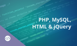 PHP, MySQL, HTML and jQuery Training - Website Development Master's Program
