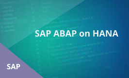 SAP ABAP on HANA Training