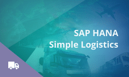 SAP S4 HANA Simple Logistics Training and Certification