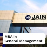 MBA in General Management + PG Certification in Business Data Analytics