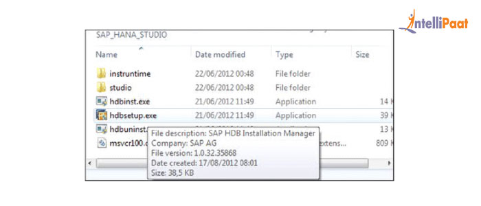 SAP HANA Installation