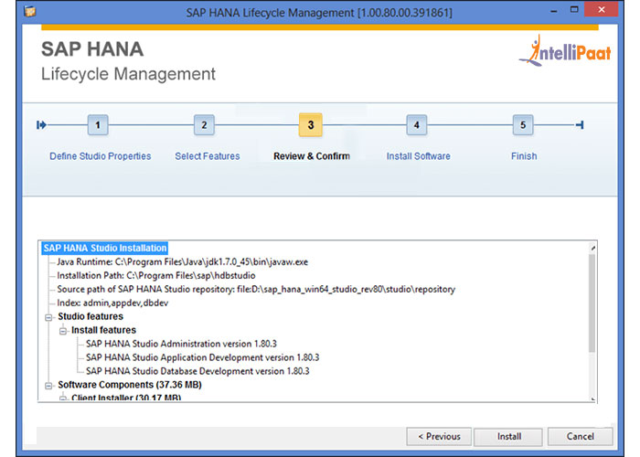 Sap Hana LifeCycle