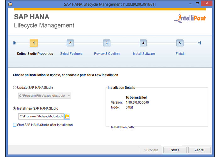 Sap hana Life Cycle