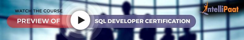 Sql Developer Training