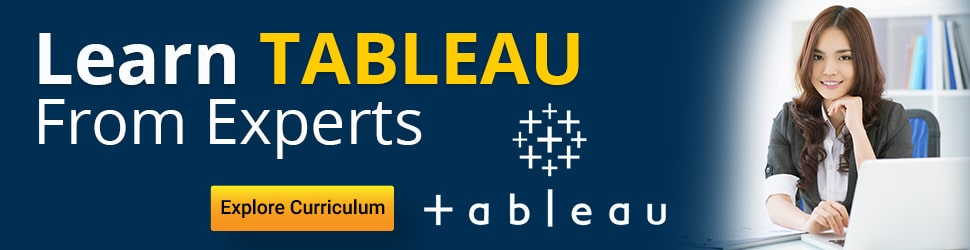 Tableau Tutorial for beginners - Learn Tableau Data