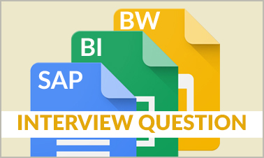 SAP BIBW interview questions