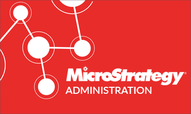 Microstrategy Administration Training Online Certification Course Image