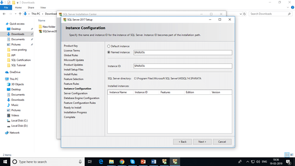 How to Install SQL Server step 4