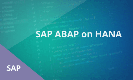 SAP ABAP on HANA Training
