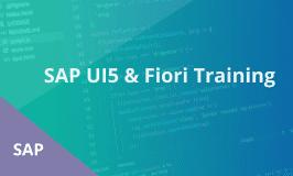 SAP UI5 & Fiori Training
